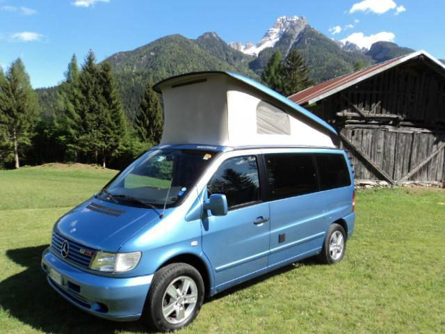 sold mercedes vito westfalia marco used cars for sale autouncle. Black Bedroom Furniture Sets. Home Design Ideas