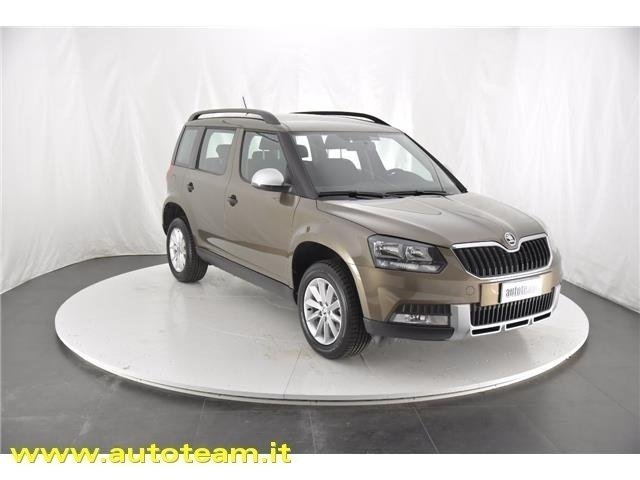 sold skoda yeti 2 0 tdi scr 110 cv used cars for sale autouncle. Black Bedroom Furniture Sets. Home Design Ideas