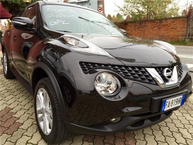 NISSAN Juke 1.6 GPL Eco Visia - In commercio da 3/2013 a 1 ...