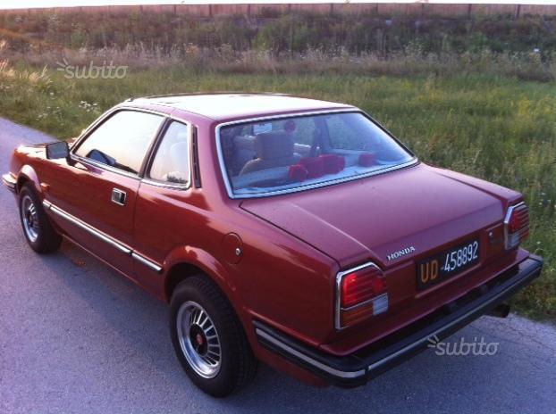 Sold Honda Prelude 1 U00aa Serie - 1983