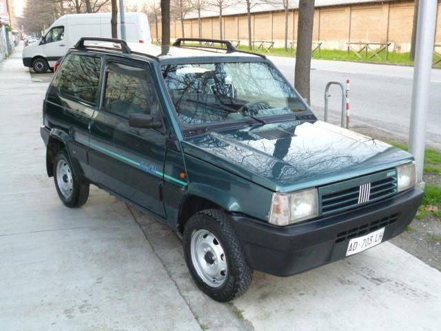 Sold fiat panda 4x4 4x4 impianto g used cars for sale for Panda 4x4 usata sisley