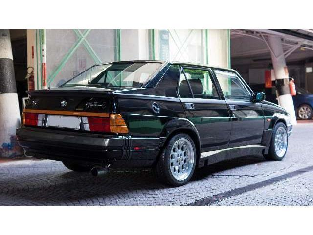 sold alfa romeo 75 turbo america used cars for sale. Black Bedroom Furniture Sets. Home Design Ideas