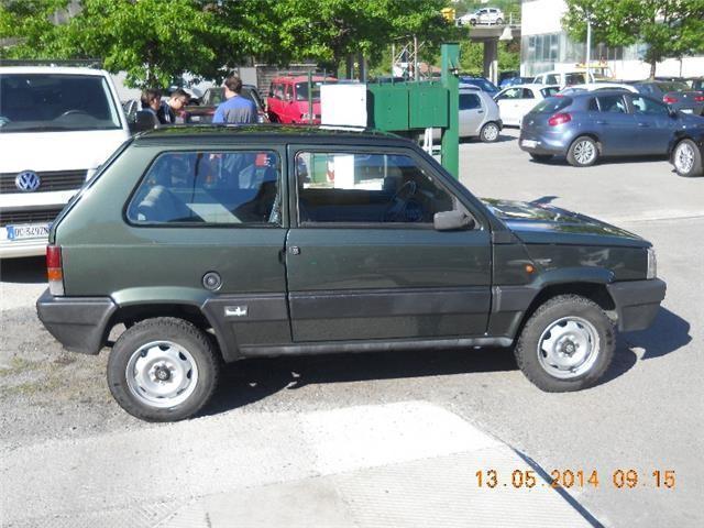Usato 4x4 sisley fiat panda 1989 km in busalla ge for Fiat panda 4x4 sisley usata