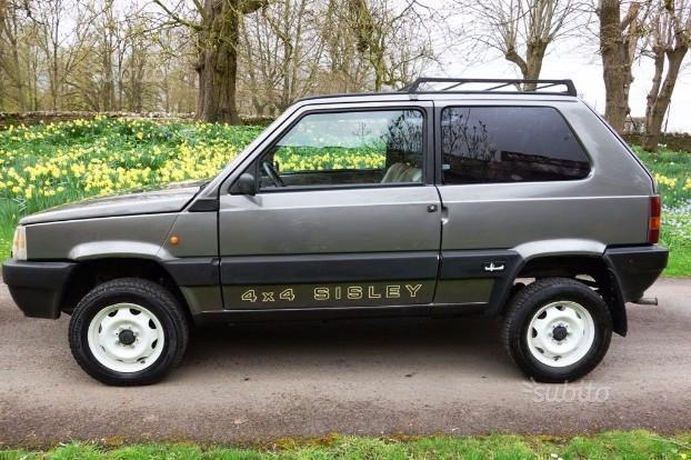 Sold fiat panda 1000 4x4 sisley used cars for sale for Panda 4x4 sisley off road