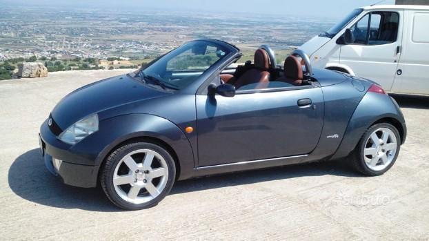 venduto ford streetka cabrio 2003 auto usate in vendita. Black Bedroom Furniture Sets. Home Design Ideas