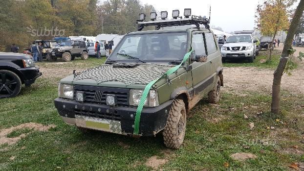 Sold fiat panda 4x4 1986 used cars for sale for Panda 4x4 youtube