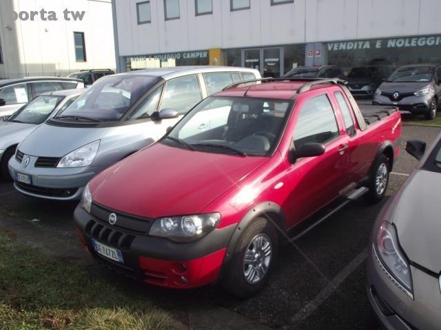 Sold fiat strada 1 3 mjt pick up c used cars for sale for Monte alloro affitti di cabina