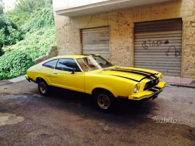 Sold ford mustang anni 70 used cars for sale autouncle for Presse piegatrici usate buon prezzo