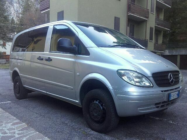 sold mercedes vito 2 2 115 cdi 4x4 used cars for sale autouncle. Black Bedroom Furniture Sets. Home Design Ideas