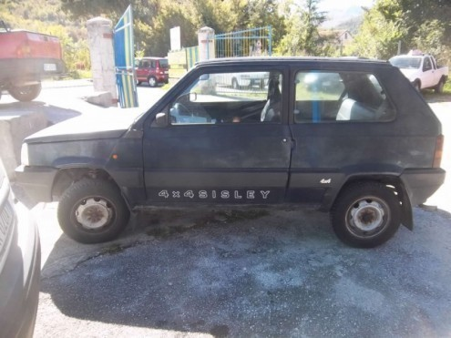 Sold fiat panda sisley 4x4 used cars for sale autouncle for Panda 4x4 sisley scheda tecnica