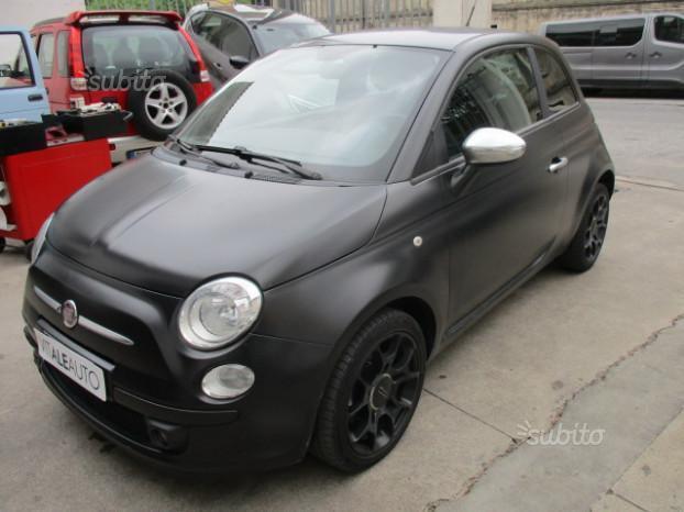 Venduto Fiat 500 Sport Diesel Nero Op Auto Usate In Vendita