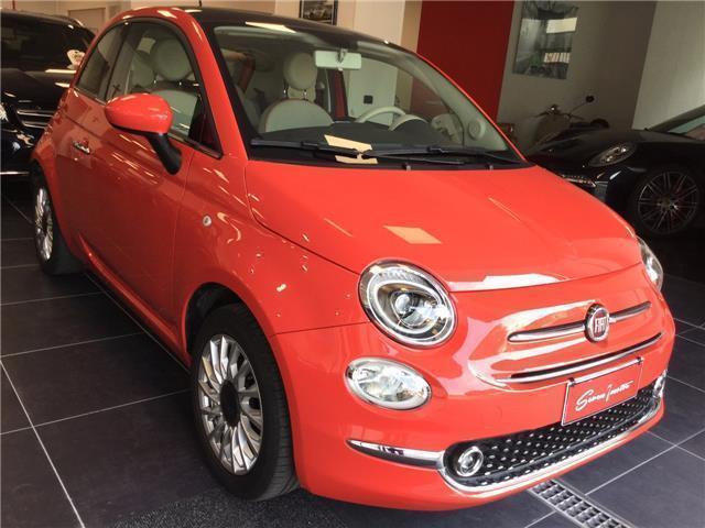 Venduto Fiat 500 1 2 Lounge Rosso Cor Auto Usate In Vendita