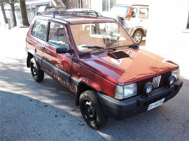 Sold fiat panda 4x4 1000 sisley mo used cars for sale for Panda 4x4 sisley off road