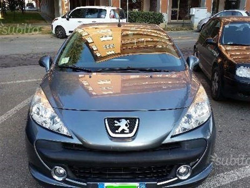 sold peugeot 207 cc cabrio vti 120 used cars for sale. Black Bedroom Furniture Sets. Home Design Ideas