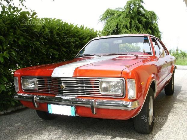 venduto ford taunus 1970 1982 ann auto usate in vendita. Black Bedroom Furniture Sets. Home Design Ideas