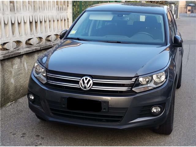 sold vw tiguan 1 4 tsi 122 cv trend used cars for sale. Black Bedroom Furniture Sets. Home Design Ideas