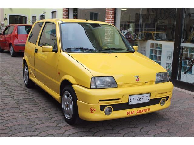 sold fiat cinquecento sporting ab used cars for sale. Black Bedroom Furniture Sets. Home Design Ideas