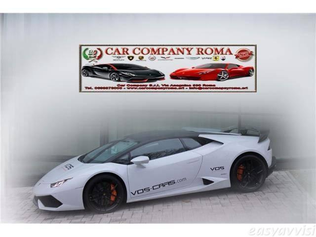 usato huracan 5 2 v10coup benzina coup automatico bianco lamborghini hurac n 2014 km. Black Bedroom Furniture Sets. Home Design Ideas