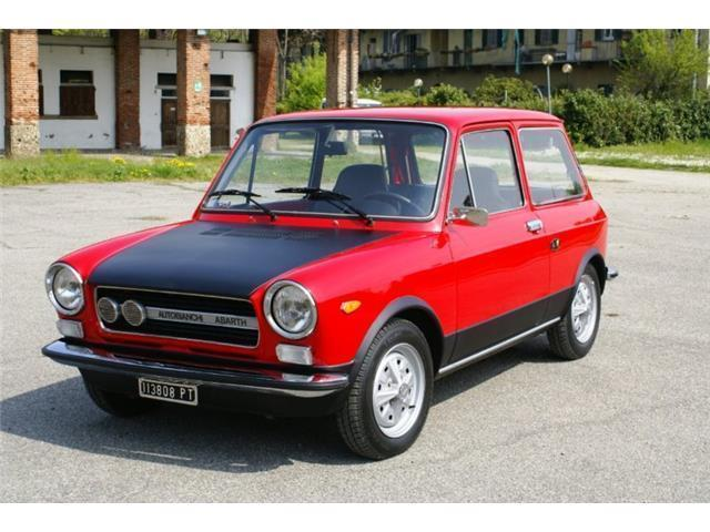 Molto Sold Autobianchi A112 Abarth 58 HP - used cars for sale - AutoUncle ZP17