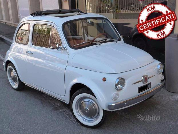 sold fiat 500 f del used cars for sale autouncle. Black Bedroom Furniture Sets. Home Design Ideas