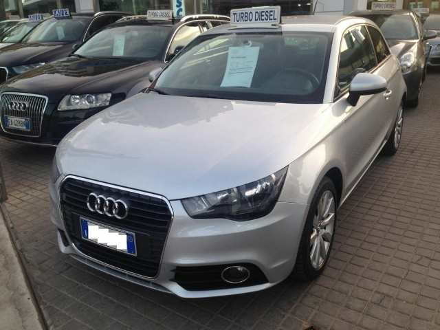 sold audi a1 1 6 tdi 105 cv ambiti used cars for sale. Black Bedroom Furniture Sets. Home Design Ideas