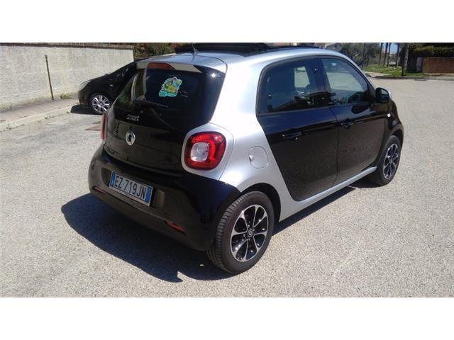 smart forfour cabrio usata