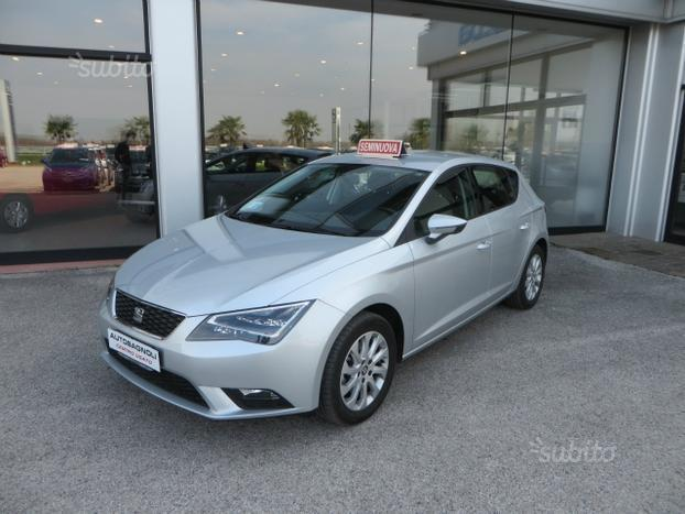 sold seat leon style 1 6 tdi 110 c used cars for sale. Black Bedroom Furniture Sets. Home Design Ideas