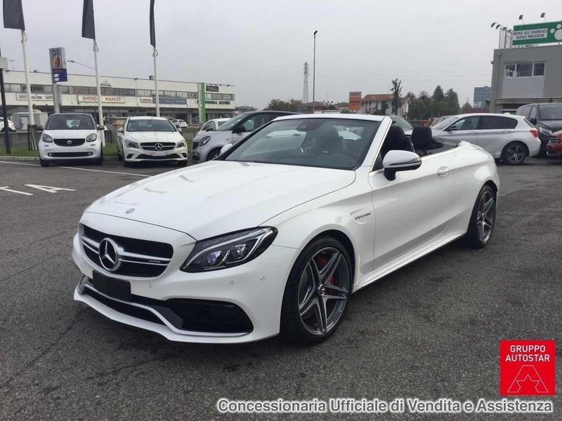 sold mercedes c63 amg classe c cab. - used cars for sale - autouncle