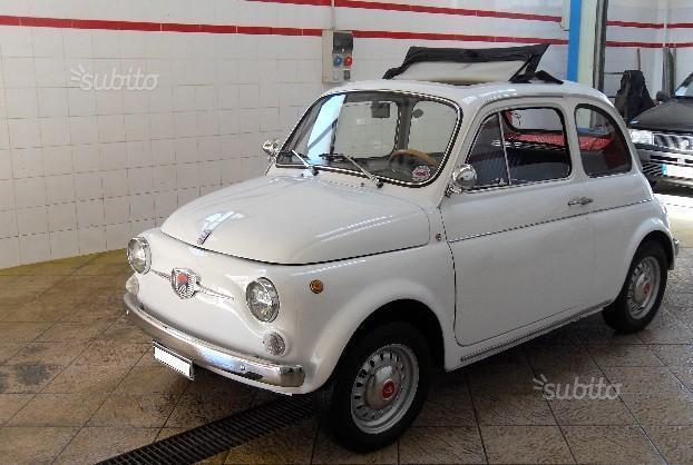 Venduto Fiat 500 Giannini Tv Origina Auto Usate In Vendita