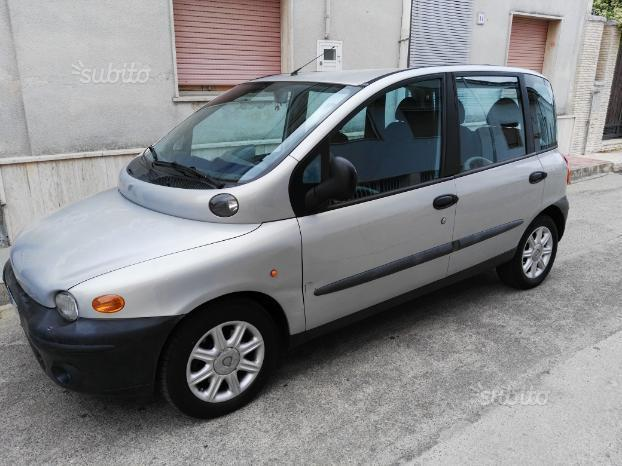 sold fiat multipla 1 9 jtd 105 cv used cars for sale autouncle. Black Bedroom Furniture Sets. Home Design Ideas