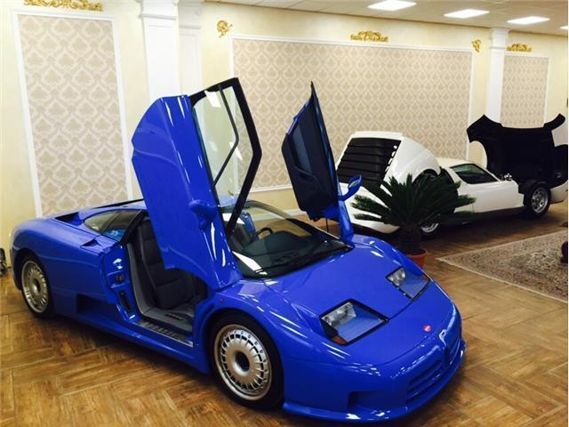 bugatti eb 110 usata - 1 bugatti eb 110 in vendita - autouncle