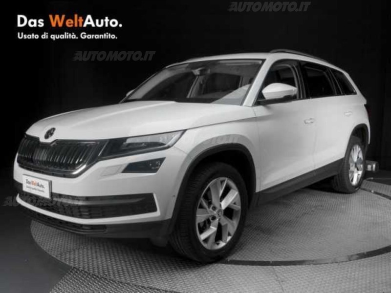 skoda kodiaq usata 108 skoda kodiaq in vendita autouncle. Black Bedroom Furniture Sets. Home Design Ideas