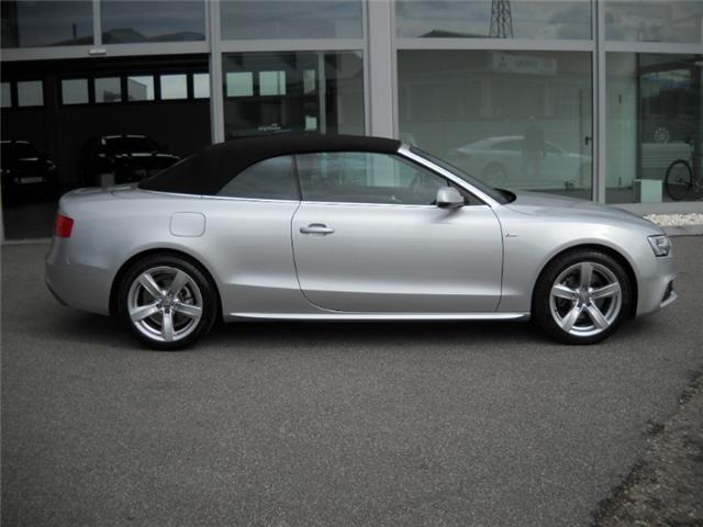 Audi a5 tdi usato bianco 2