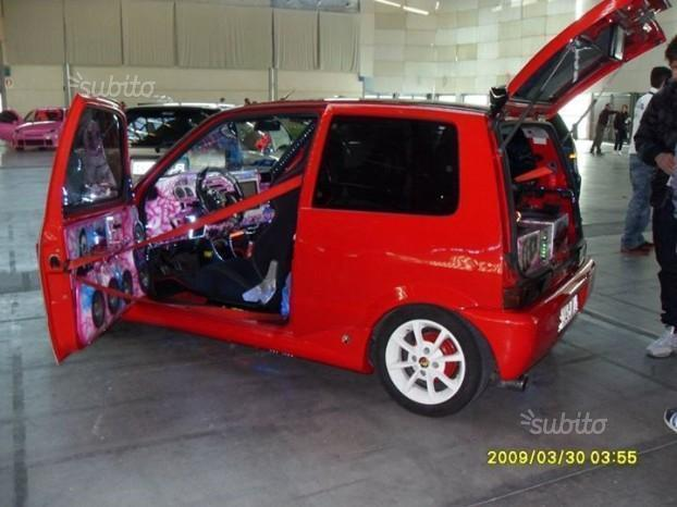 sold fiat 500 tuning 1998 used cars for sale. Black Bedroom Furniture Sets. Home Design Ideas