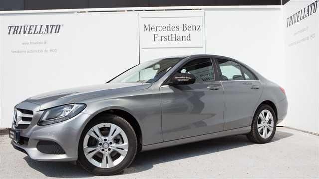 6083bdd84d usata Mercedes C220 ClasseBlueTEC Automatic Executive usato Argento palladio  metallizzato