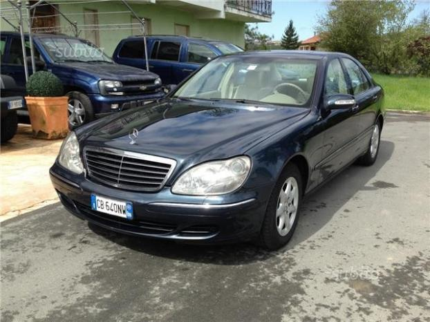 sold mercedes s320 cat versione 20 used cars for sale autouncle. Black Bedroom Furniture Sets. Home Design Ideas