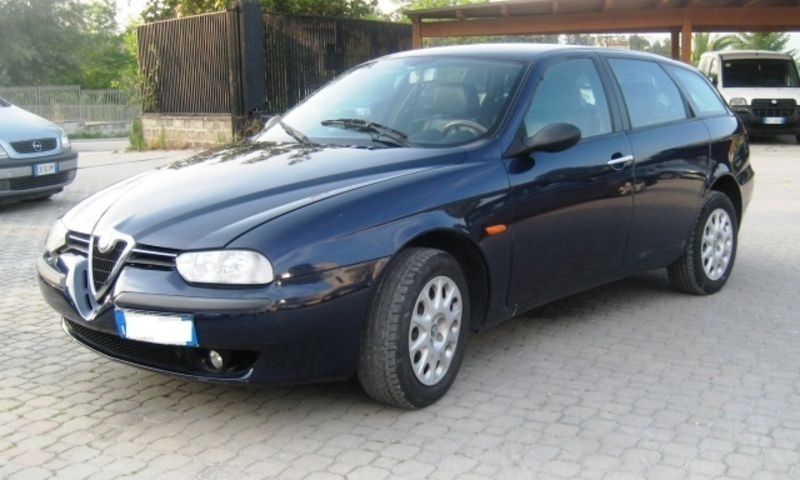 usato 1 9 jtd cat sw distinctive alfa romeo 156 2000 km in pretoro ch. Black Bedroom Furniture Sets. Home Design Ideas