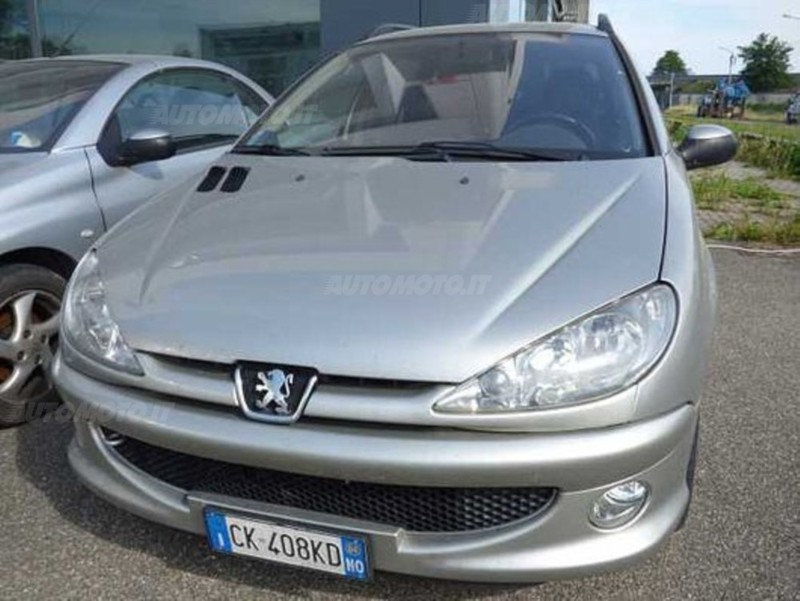 sold peugeot 206 1 6 16v sw xs used cars for sale. Black Bedroom Furniture Sets. Home Design Ideas