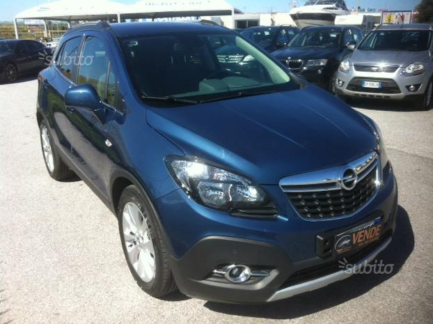 venduto opel mokka 1 4 turbo gpl tech auto usate in vendita. Black Bedroom Furniture Sets. Home Design Ideas