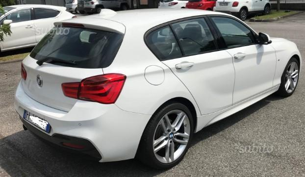 Sold BMW 116 Serie 1 (F20) i 109 C. - used cars for sale