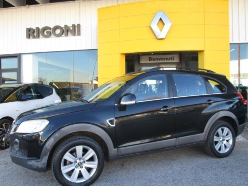 Sold Chevrolet Captiva 20 Vcdi Lt Used Cars For Sale