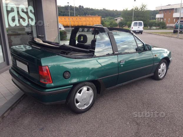 sold opel kadett cabrio 1 6 prezzo used cars for sale. Black Bedroom Furniture Sets. Home Design Ideas
