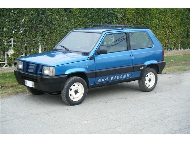 Sold fiat panda 4x4 panda sisley used cars for sale for Fiat panda 4x4 sisley usata