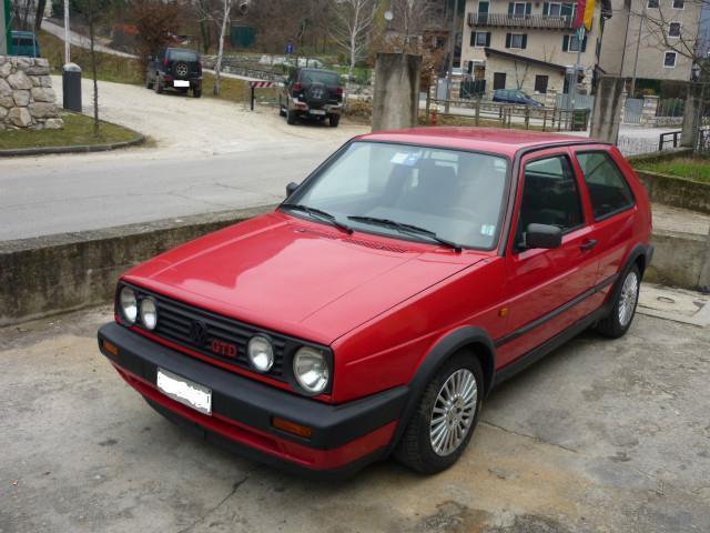 sold vw golf serie 2 gtd 1600 75cv used cars for sale autouncle. Black Bedroom Furniture Sets. Home Design Ideas