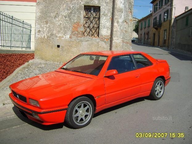 Sold Maserati Ghibli - 1993 - used cars for sale