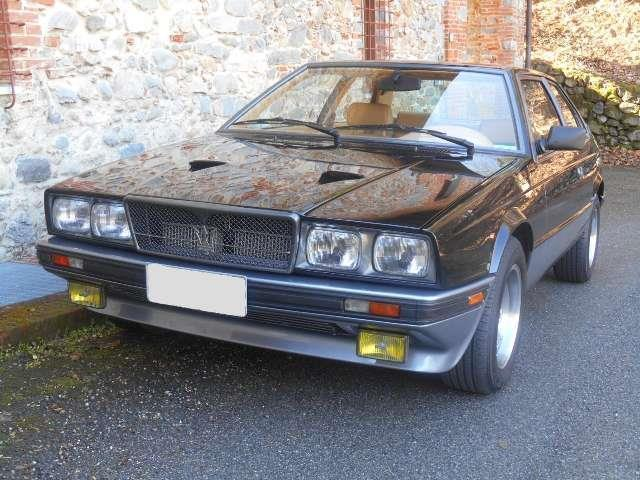 sold maserati biturbo si black - used cars for sale - autouncle