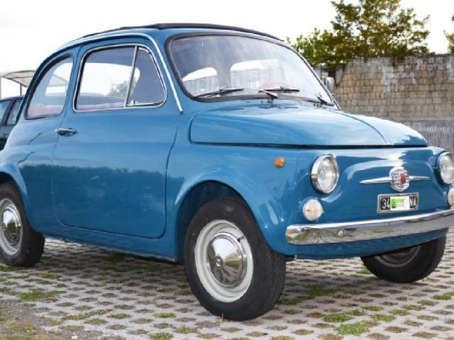 sold fiat 500 f 8 bulloni april used cars for sale. Black Bedroom Furniture Sets. Home Design Ideas
