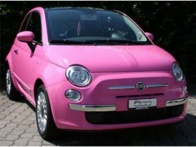 sold fiat 500 rosa pink used cars for sale autouncle. Black Bedroom Furniture Sets. Home Design Ideas