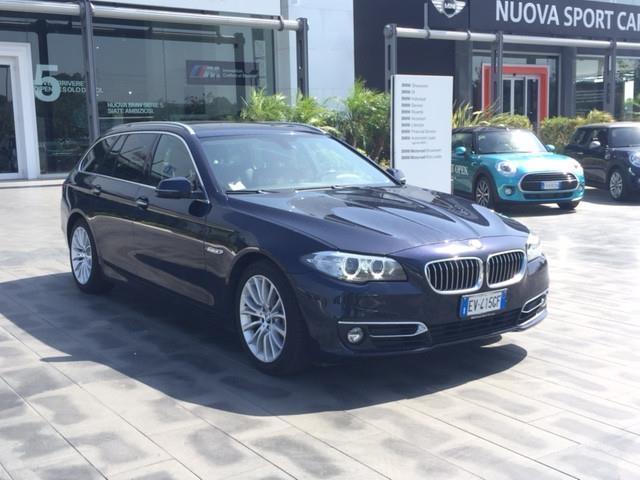 1/4 Usata BMW 520 Serie 5 Touring D Luxury Del 2014 Usata A Catania