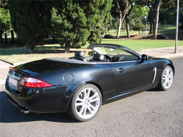 sold jaguar xkr xk r cabrio v8 4 2 used cars for sale. Black Bedroom Furniture Sets. Home Design Ideas
